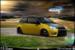 Ford Fiesta Dark by DemoDesign