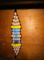 Doctor Whooves cutie mark beads by CaliforniaHunt24
