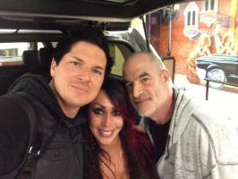 Zak with Mark and Debby by MJandGhostAdventures