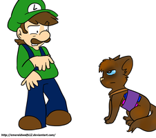 Rq: Quin and Luigi by MariobrosYaoiFan12