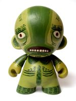 Lagoon Creature Mini Munny by Teagle