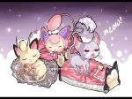 Pokemon: Nap time by Geegeet