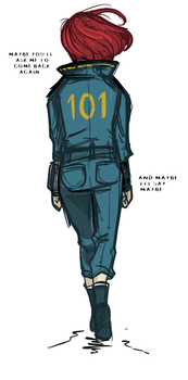 The kid from vault 101 by Mikkynga