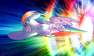 Sonic Rainboom by atryl