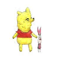 Childhood Totems - Winnie and Piglet by macen