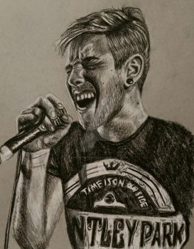Charcoal - Patty Walters (As It Is) by ThrowYourRoses