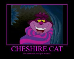 The Cheshire Cat by BenJJedi