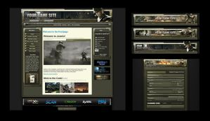 World at War Template Skin by karsten