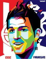 Cesc Fabregas (Red or Blue?) by firmanalief