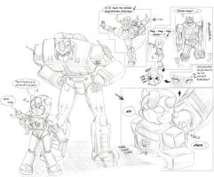 Transformers Overman by PritzPritz