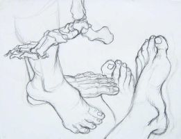 Foot Study by EricJWhite
