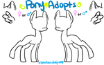 Pony Adoptable Base by EnviousDubJump