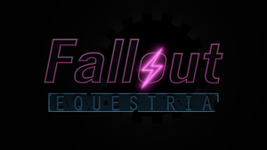 Fallout: Equestria Logo 3D - WIP 2 by Lightning5trike