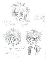 Hunter scribbles by Kittychan2005