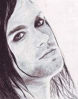 Bert McCracken by ailema001