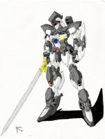 Sword Mecha colored by blackswordsman28