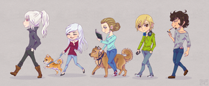 HS Staff Chibi Edition by Minarie