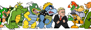 False Bowser by pocket-arsenal