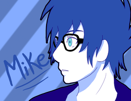 Mike - Blue by AniiTaRuiz