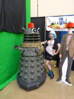 Molly and the Dalek by LolitaLibrarian