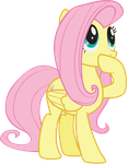 Fluttershy Gasp by juniberries