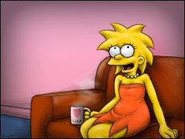 Lisa and her morning routine by St-Syke