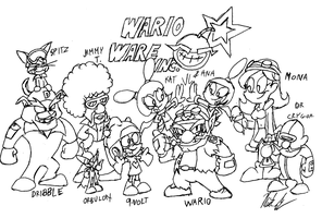 Wario Ware Inc by battybuddy