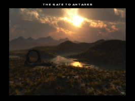 The gate to Antares by wolfen11