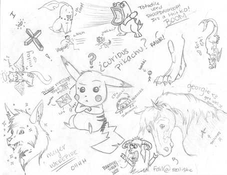 Epic Doodle Page by ArcyEC
