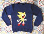 Super Sonic Sweater by gurliebot