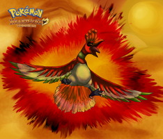 Pokemon Heartgold Ho-oh by Rindiny