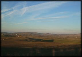 Tuscany hills by Pollon82