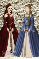 Snow White and Rose Red by Yoren-Utu