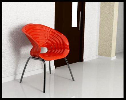 red chair2 by rambee