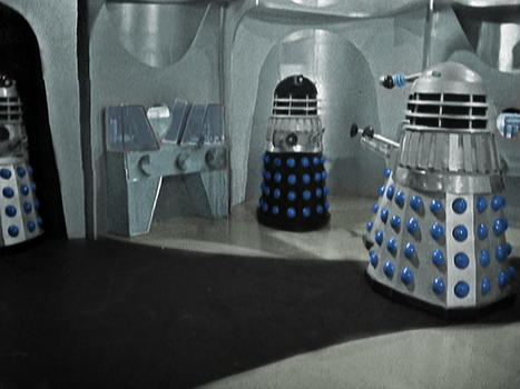 Colorized 60's Daleks by SoundsmythProduction