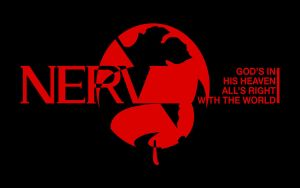 new NERV logo by egidiogaudi