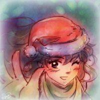 Christmas Time: Kaggie doodle by Rocioo