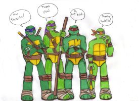 First take on TMNT 2012 by KessieLou