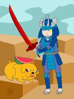 Samurai Finn by -coldfusion-