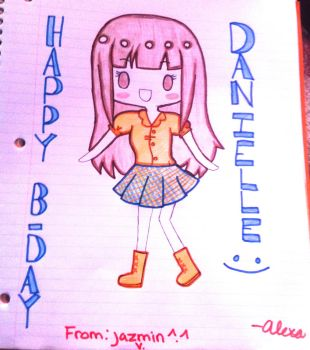 Danielle happy b-day by AhoyNekoChan