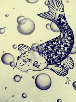 Koi Fish by flavor-of-life4ever