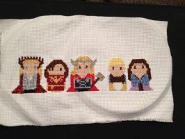 Cross Stitch for my sister by dragoon811