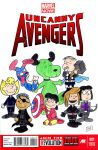 Peanuts Avengers by ibroussardart