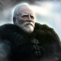 Jeor Mormont by dloliver
