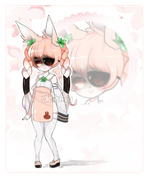 Adoptable: Sweet Weed Bunny (CLOSED) by deichuu