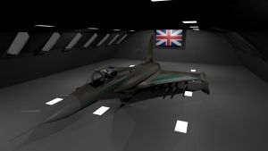 EF2000 Euro Fighter by Marksman104