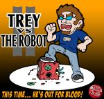 Trey VS the Robot 2 by NyQuilDreamer