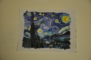 Starry Night Van gough piece by TRACeXvALINTYNE