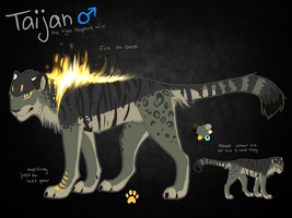 Taijan Ref Sheet by whicray