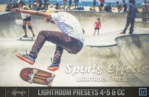 100+ Sports Effect Lightroom Presets by symufa